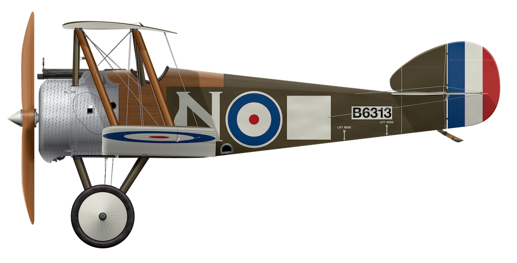 Sopwith Camel B6313 - March 1918