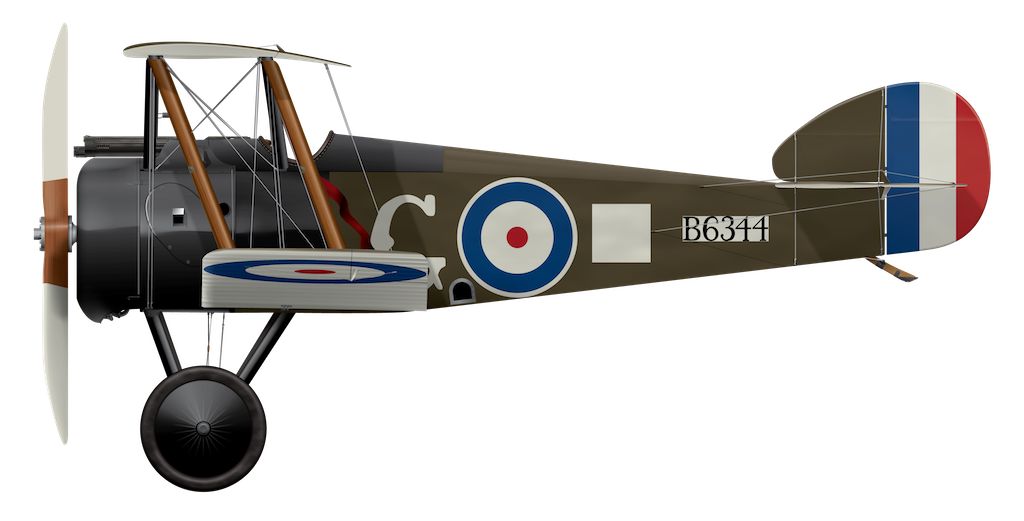 Sopwith Camel B6344 - October 1917