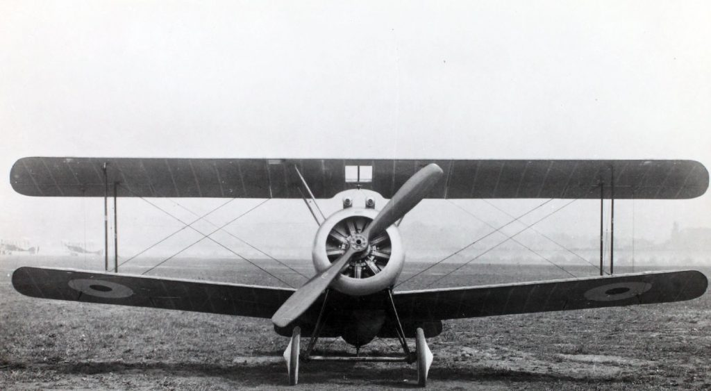 Sopwith Camel - Front View