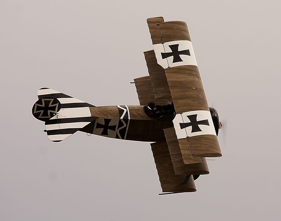 Replica Dr.1 in Flight