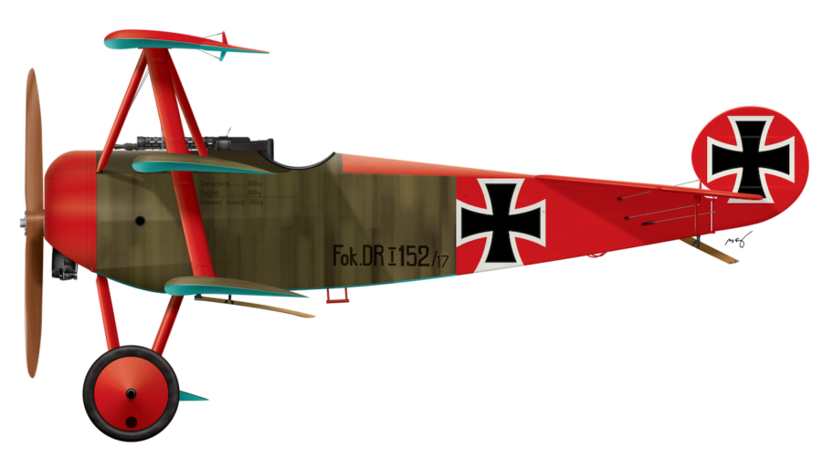 Fokker Dr.1 152/17 - March 1917