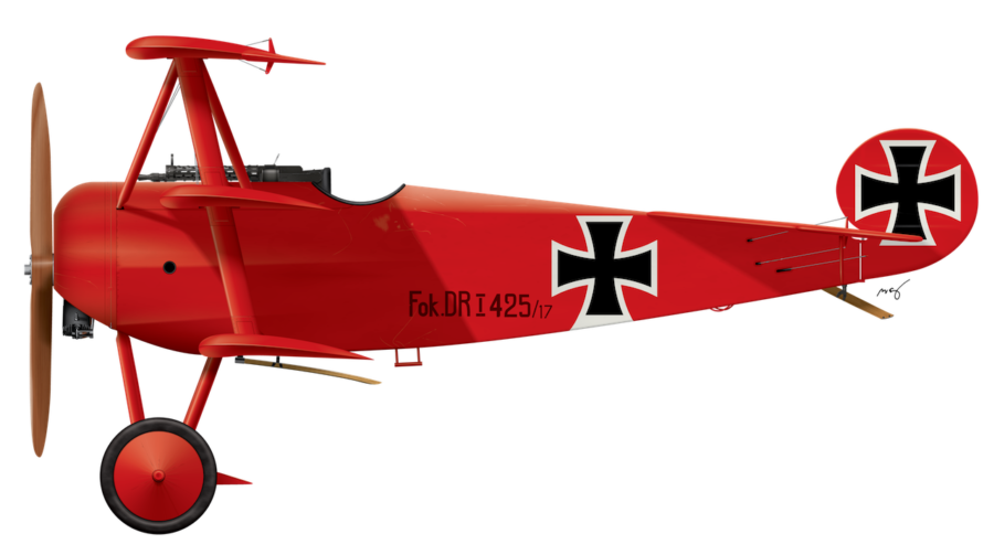 The Red Baron's Fokker Dr.1 475/17 - March 1917