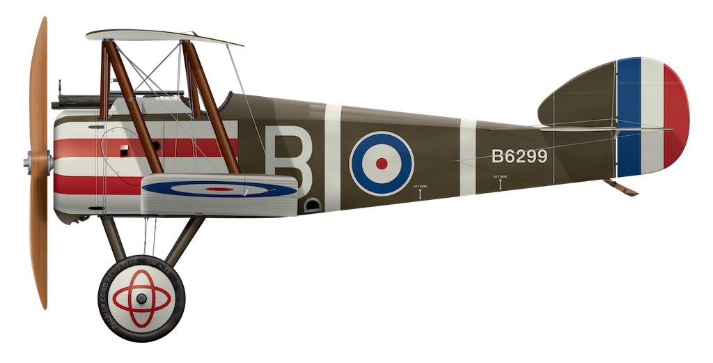 Sopwith Camel B6299 - B Flight, 10 Naval Squadron RNAS