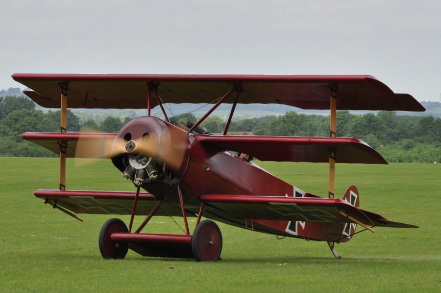 Replica Dr.1 Ready for Takeoff