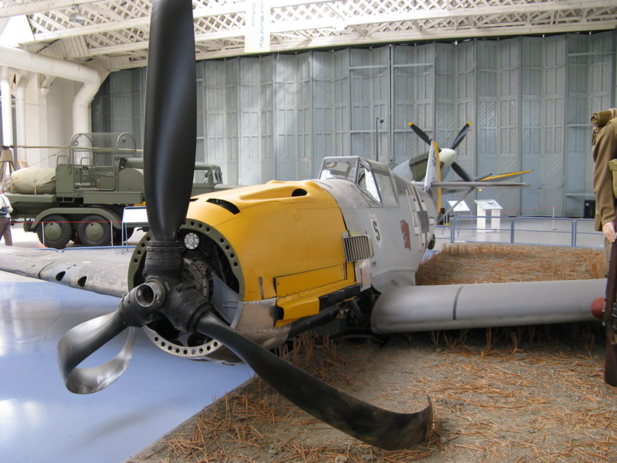 bf-109-crashed-exhibit