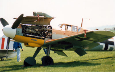 bf109-engine-bay