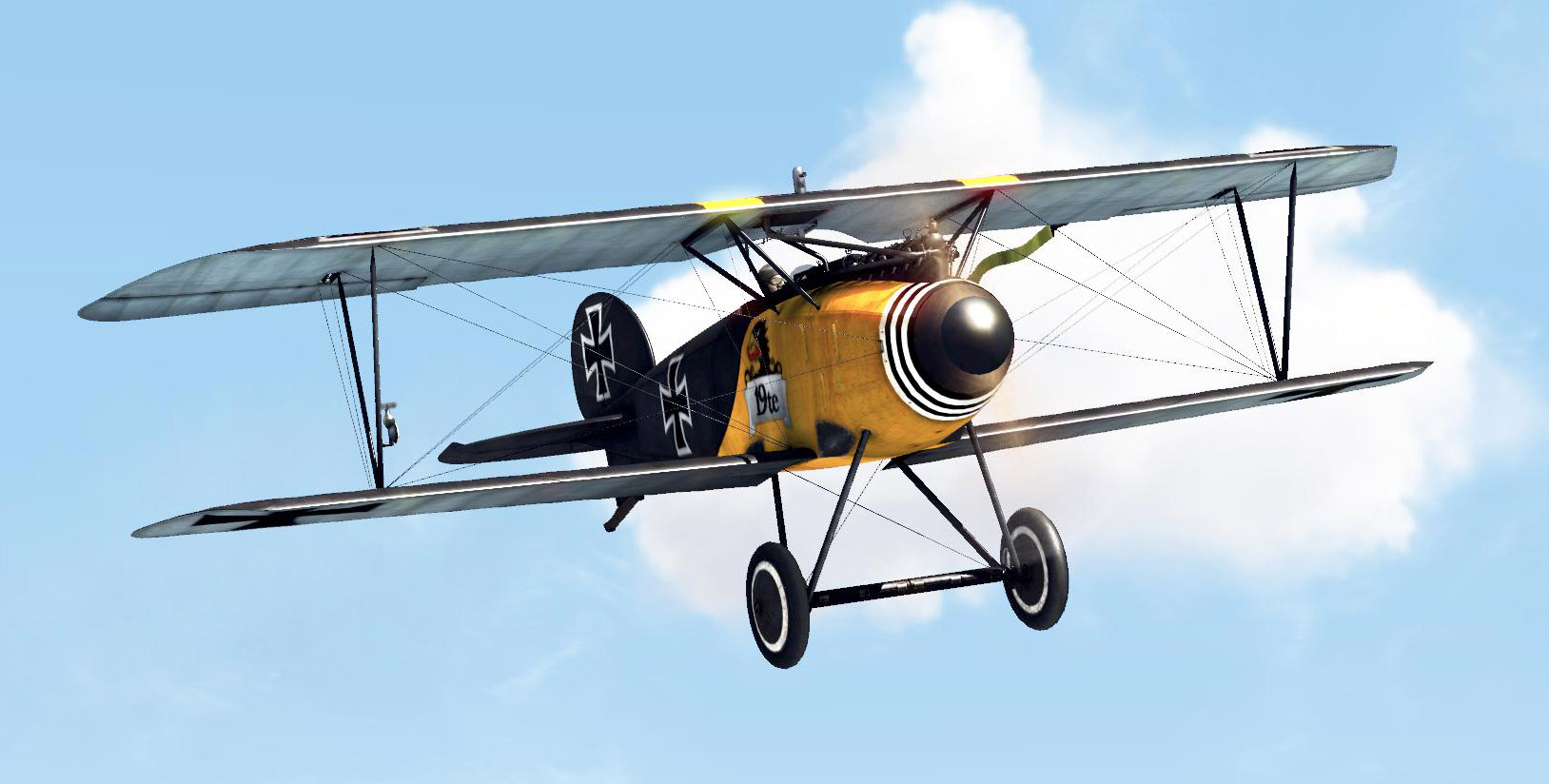Albatros D.III - Flying