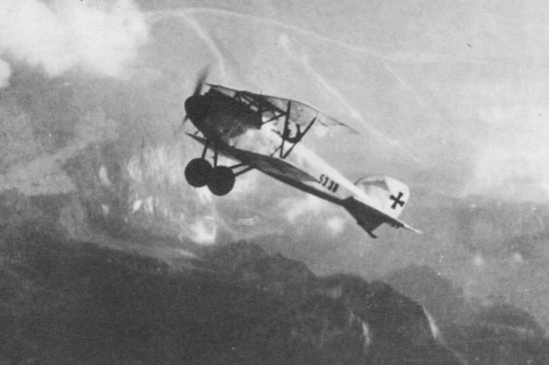 Albatros DIII - Climbing