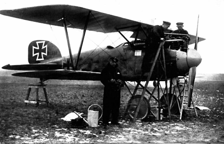 Albatros DIII - Service