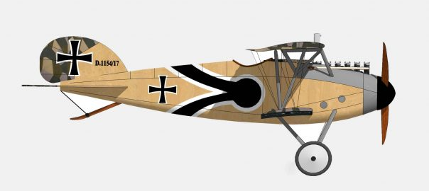 Albatros DIII - Side View