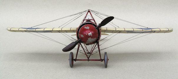 Morane Saulnier N - Model Front