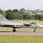 Saab Gripen Taxiing