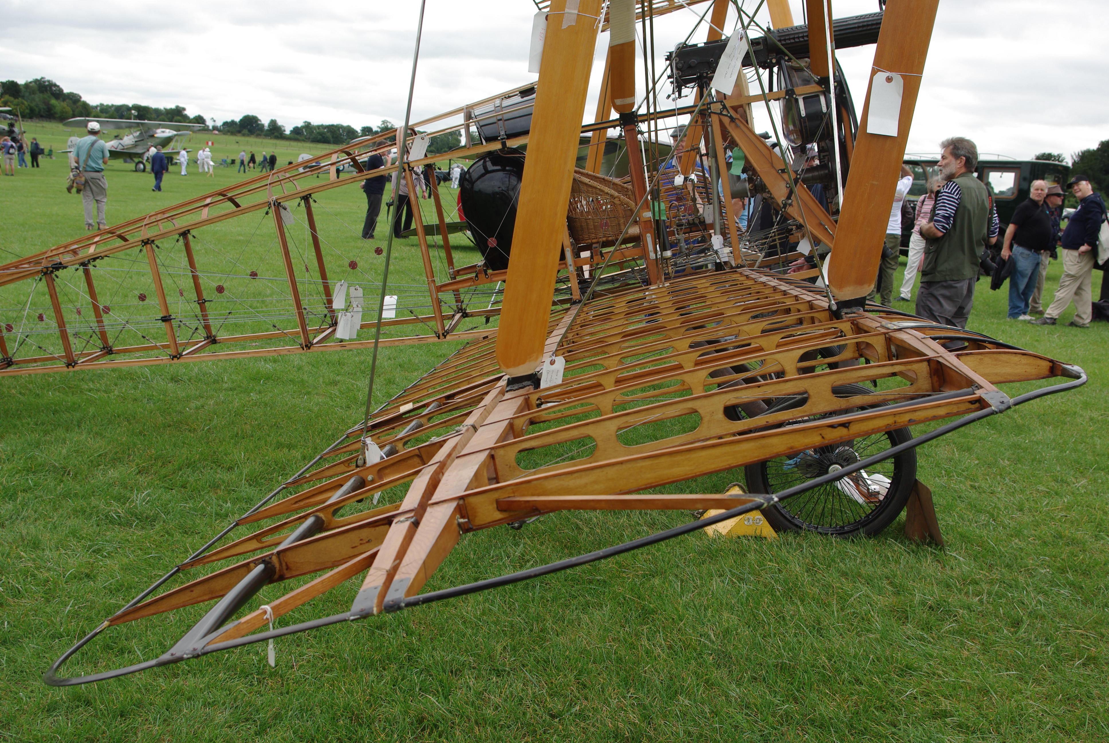 Sopwith Camel Replica - Exposed Structure