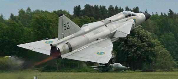 Saab Viggen - Takeoff