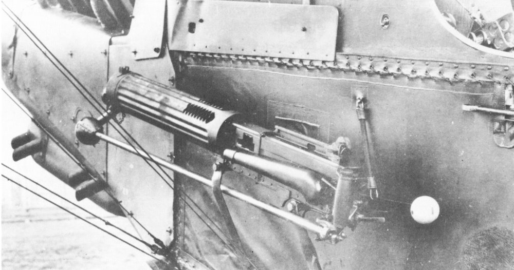 Vickers Gun - RAF RE8