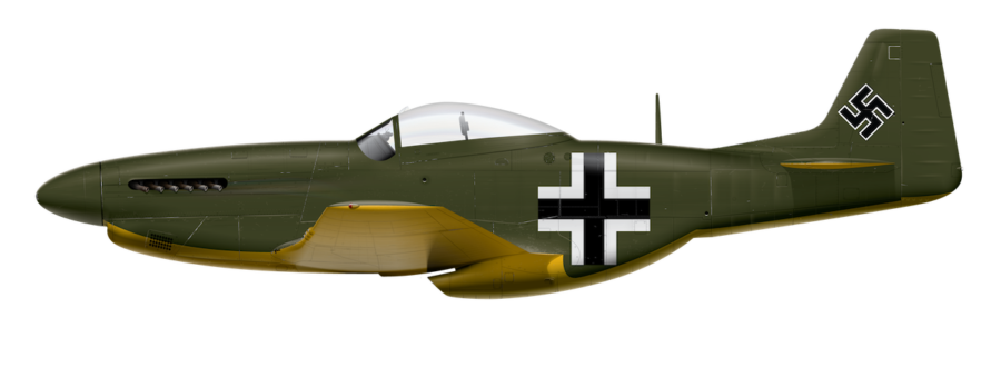 Captured P-51D with German Markings