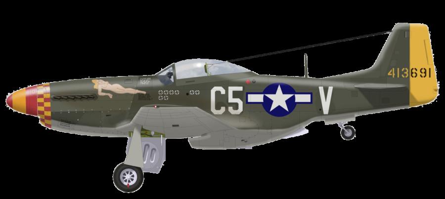 P-51D-5-NA 8AF 44-13691