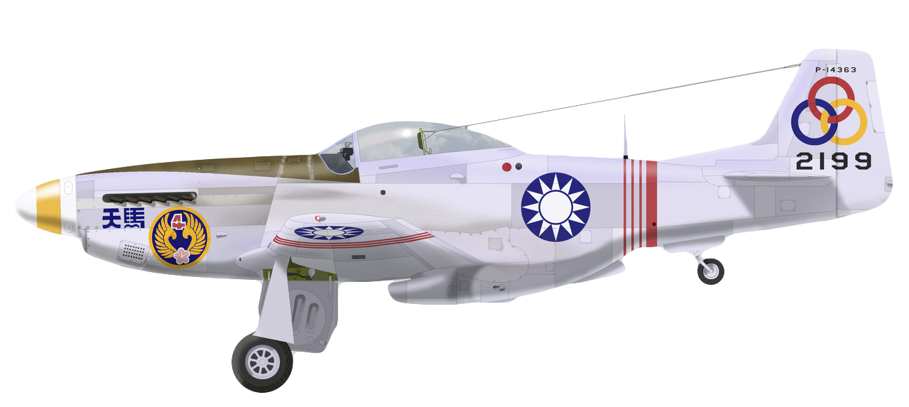 P-51D-25-NA 21FS Republic of China Air Force