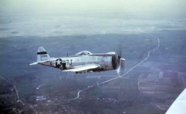 P-47 over Belgium 1944