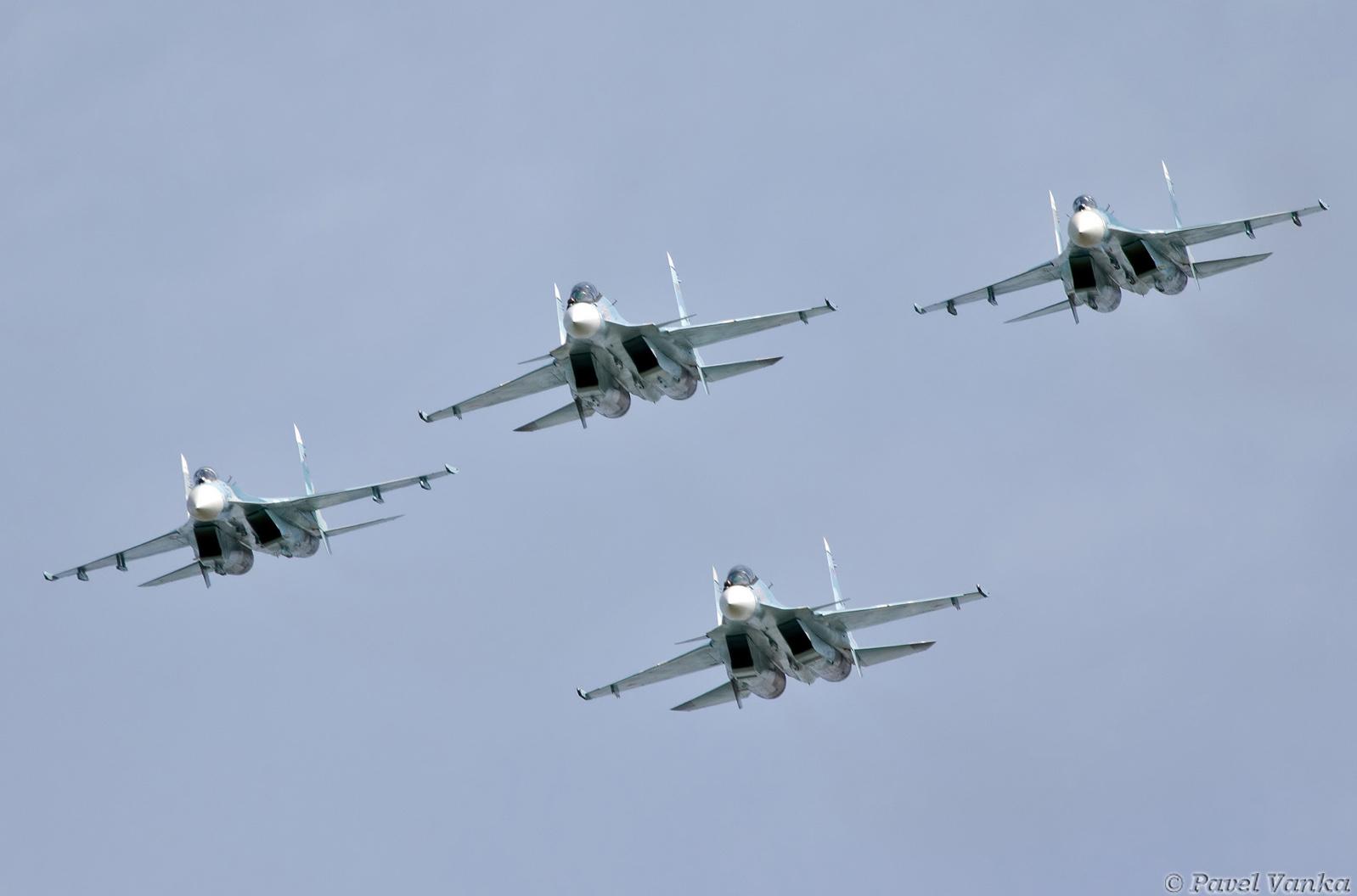 Loading su 33 flanker d carrier based fighter jet su 27 - Ukraine Su 27 Flankers At Malta International Airshow 2016