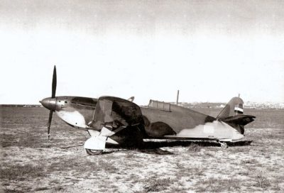 IK-3 Summer of 1940 flown by Savo Poljanec, commander of 162nd Squadron