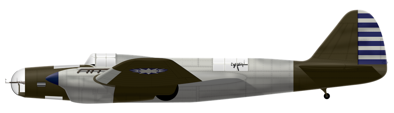 XB-3 Side View