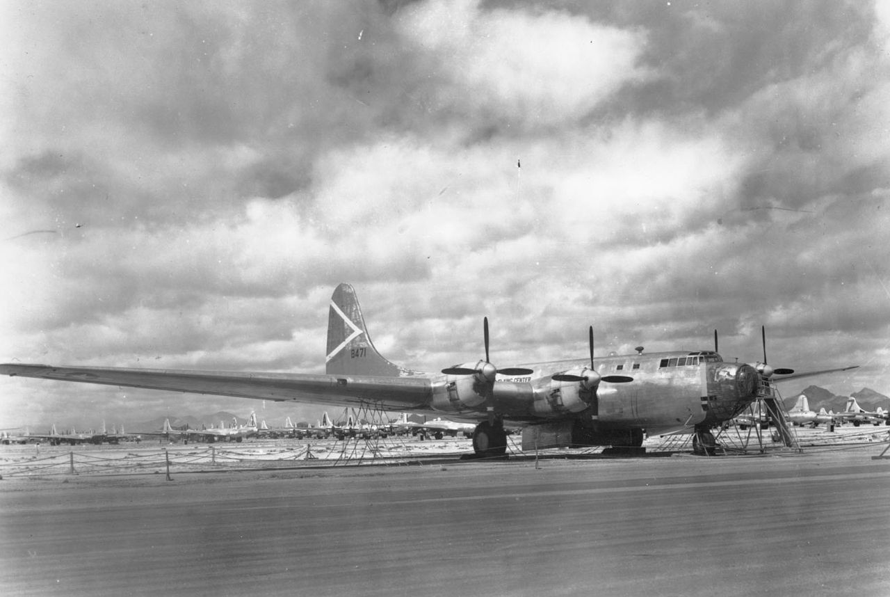 XB-19 Before Scrapped